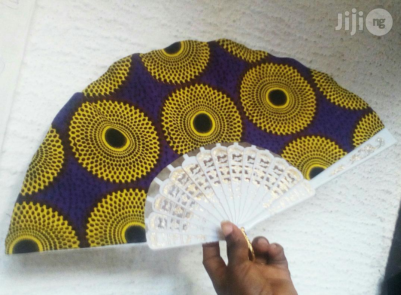 Archive: Ankara Pretty Hand Fan