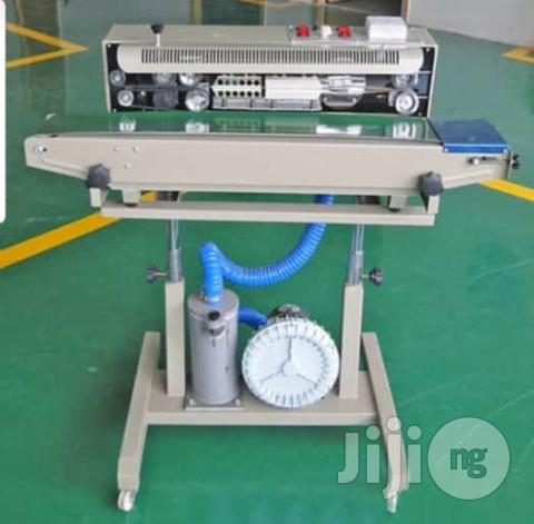 Archive: Sealing Machine With Nitrogen