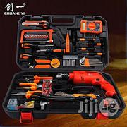 Tools Box Kit Set With Electric Drill Machine | Hand Tools for sale in Lagos State, Lagos Island