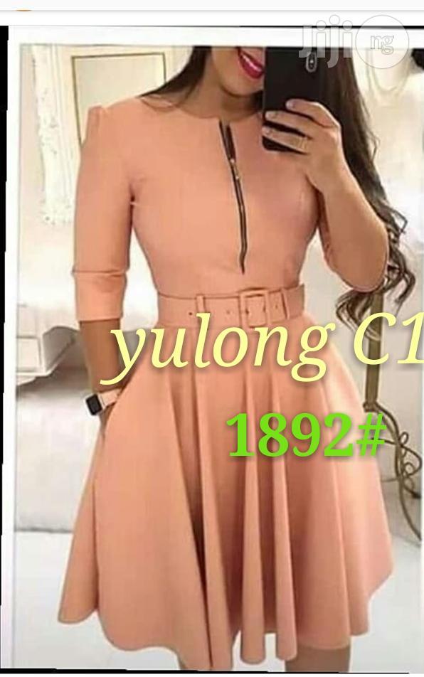 Flare Midi Dress | Clothing for sale in Amuwo-Odofin, Lagos State, Nigeria