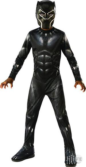 Black Panther Padded Costume   Children's Clothing for sale in Lagos State, Amuwo-Odofin