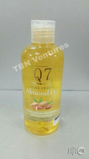Q7 Paris 100% Pure Sweet Almond Oil - 250ml | Skin Care for sale in Lagos State, Amuwo-Odofin