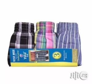Yulu 3 In 1 Men's Boxers - Multicolour | Clothing Accessories for sale in Lagos State, Lagos Island (Eko)