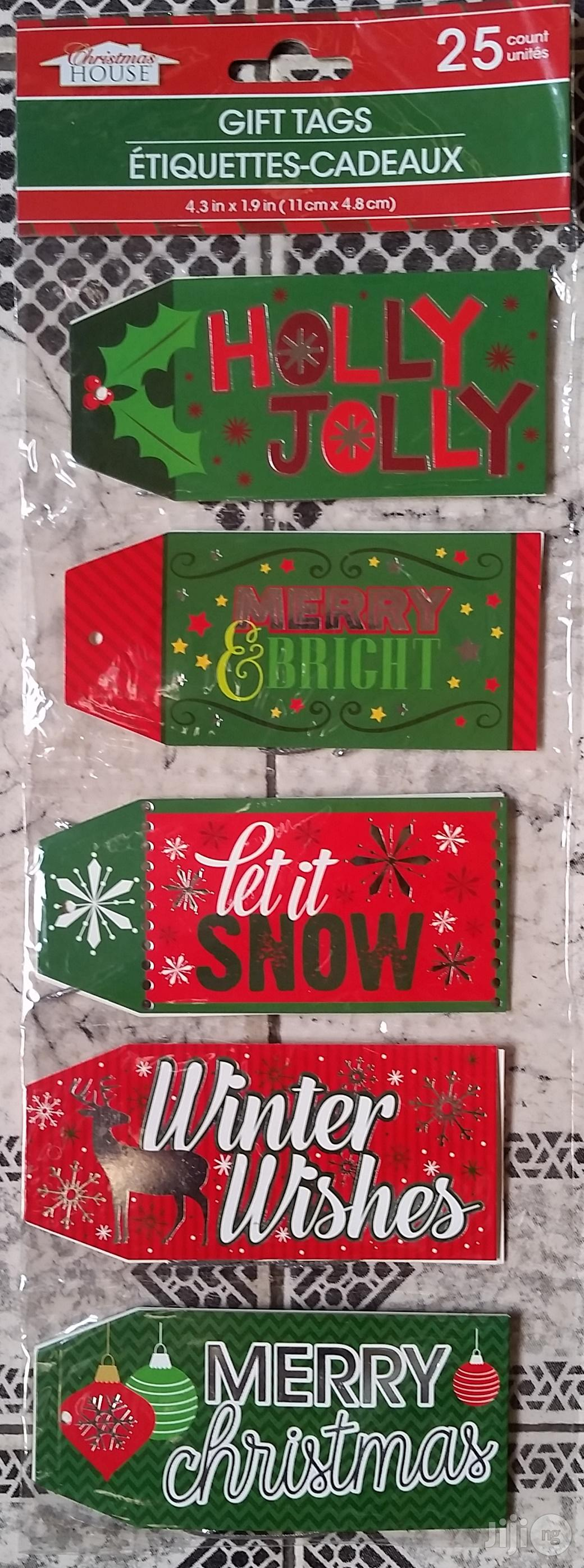 Archive: Gift Tags Selection