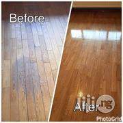 Professional Hardwood Floor Polishing & Sealing | Cleaning Services for sale in Lagos State, Lekki Phase 1