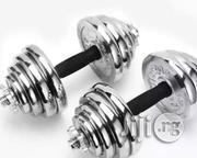 Brand New 20kg Dumbell   Sports Equipment for sale in Akwa Ibom State, Etim-Ekpo