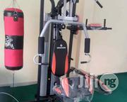 New Station Gym With Boxing Bag   Sports Equipment for sale in Akwa Ibom State, Ibeno