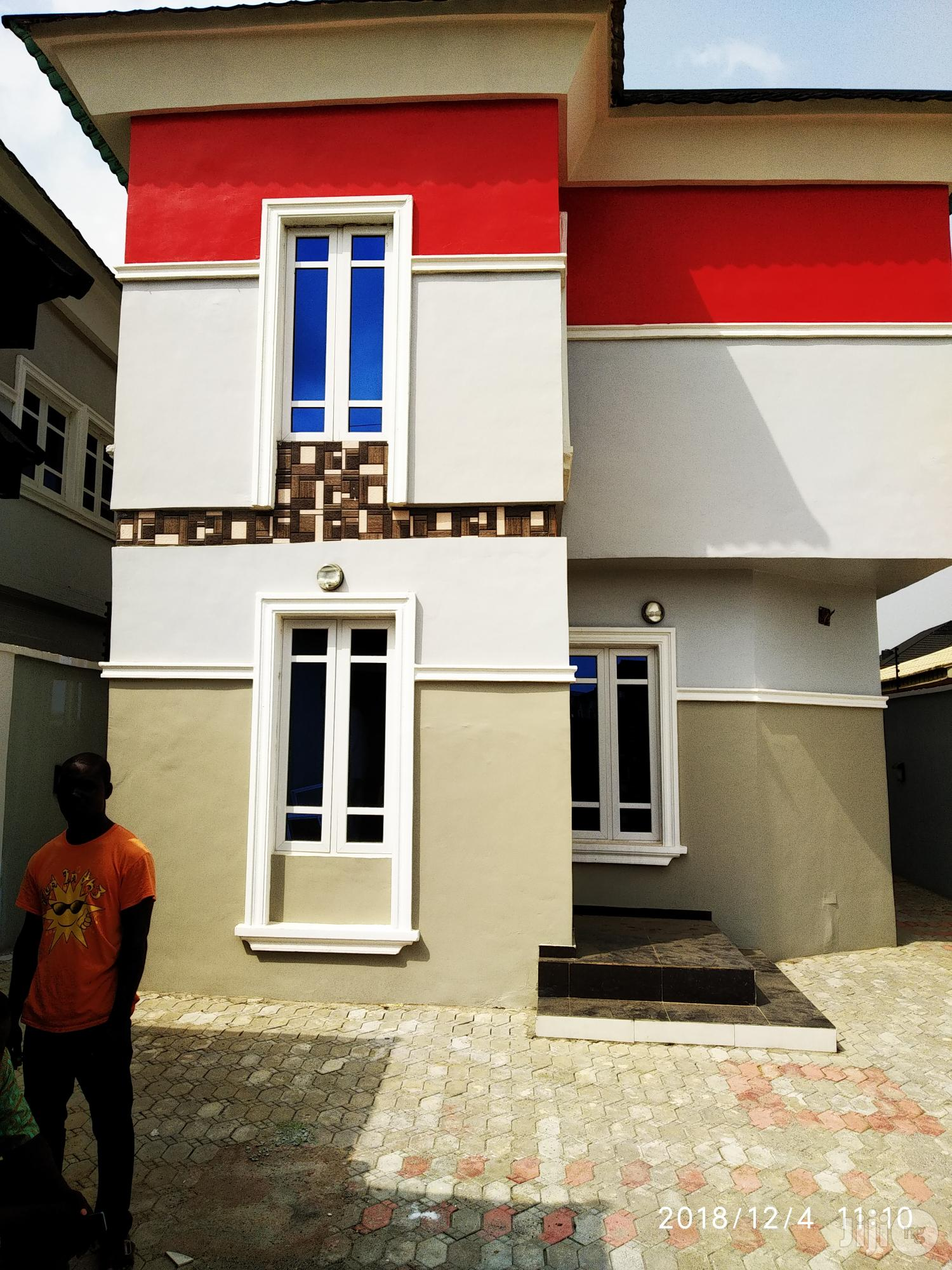 New Clean Finished Duplex At Arepo For Sale