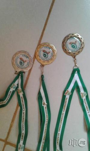 Sports Medal With Print   Arts & Crafts for sale in Lagos State, Ajah