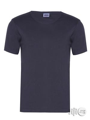 Plain Grey O-neck Polo T-shirt   Clothing for sale in Lagos State, Surulere