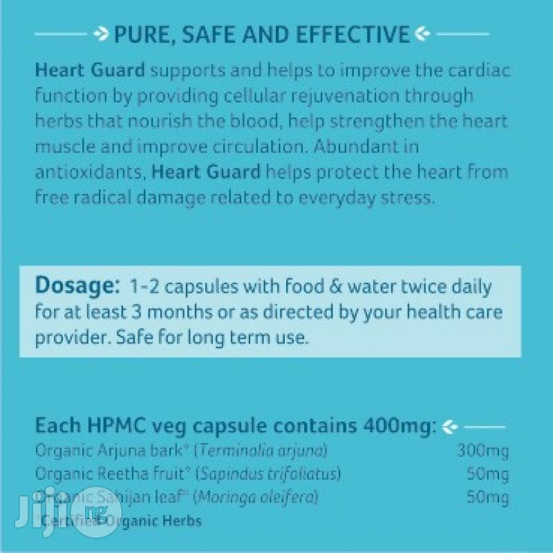 Organic India Heart Guard 60 Caps @400g Strengthen The Heart Muscle | Vitamins & Supplements for sale in Ikeja, Lagos State, Nigeria