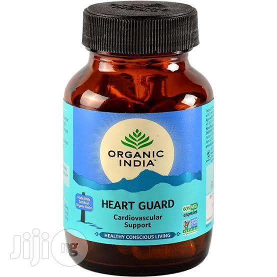 Organic India Heart Guard 60 Caps @400g Strengthen The Heart Muscle