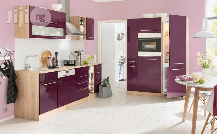 Kitchen Cabinet With High Gloss Finish In Ipaja Furniture Michael Enemuo Jiji Ng