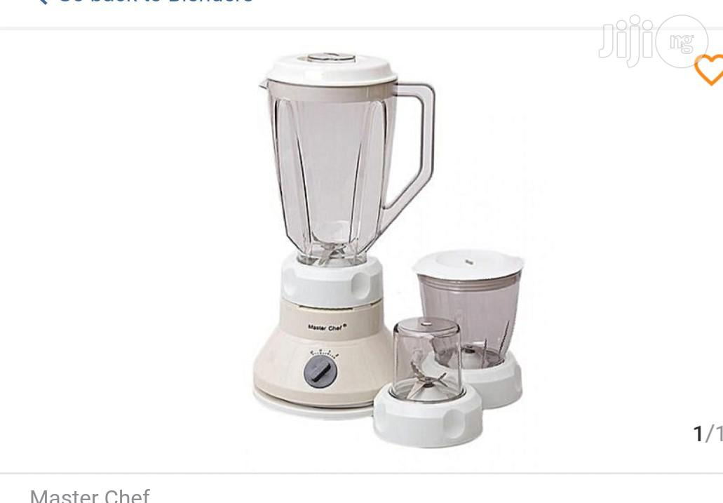Master Chef Blender With Two Powerful Mills