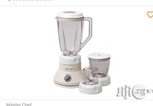 Master Chef Blender With Two Powerful Mills   Kitchen Appliances for sale in Lagos State, Lagos Island (Eko)