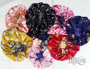 Drawstrings Reversible Satin Bonnets | Clothing Accessories for sale in Lagos State, Surulere