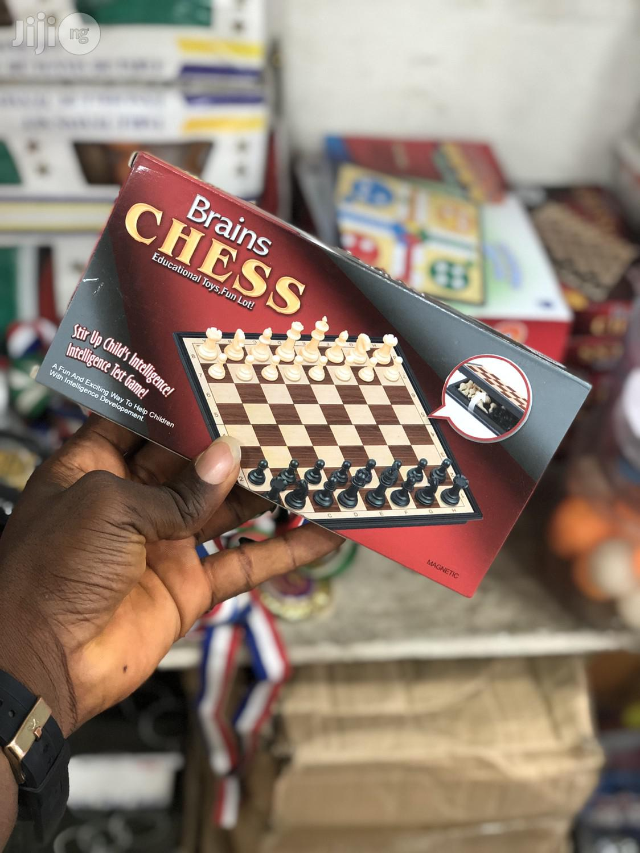 Magnetic Brain Chess