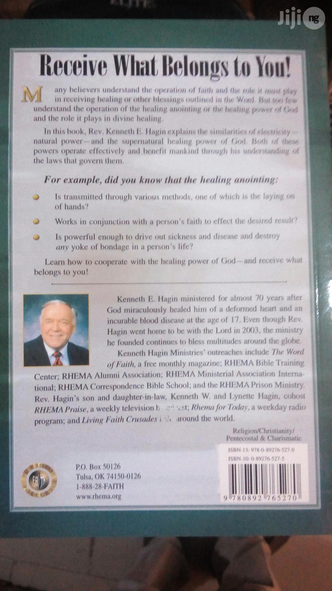 Healing Annonting By Kenneth Hagin | Books & Games for sale in Yaba, Lagos State, Nigeria
