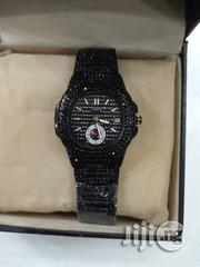 Keep Moving Female Black Ice Stones Wristwatch | Watches for sale in Lagos State, Surulere