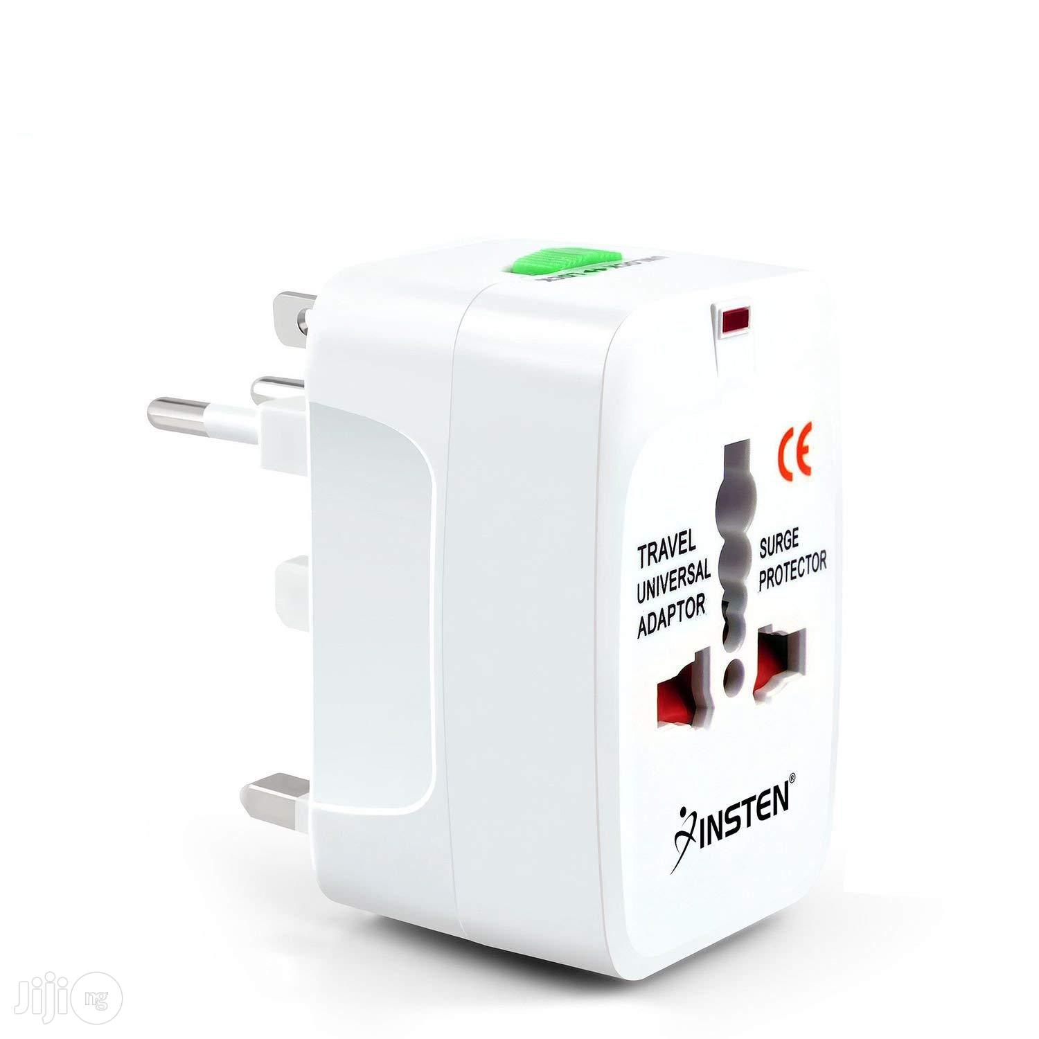 Universal World Wide Travel Charger Worldwide Adapter | Accessories & Supplies for Electronics for sale in Ikeja, Lagos State, Nigeria