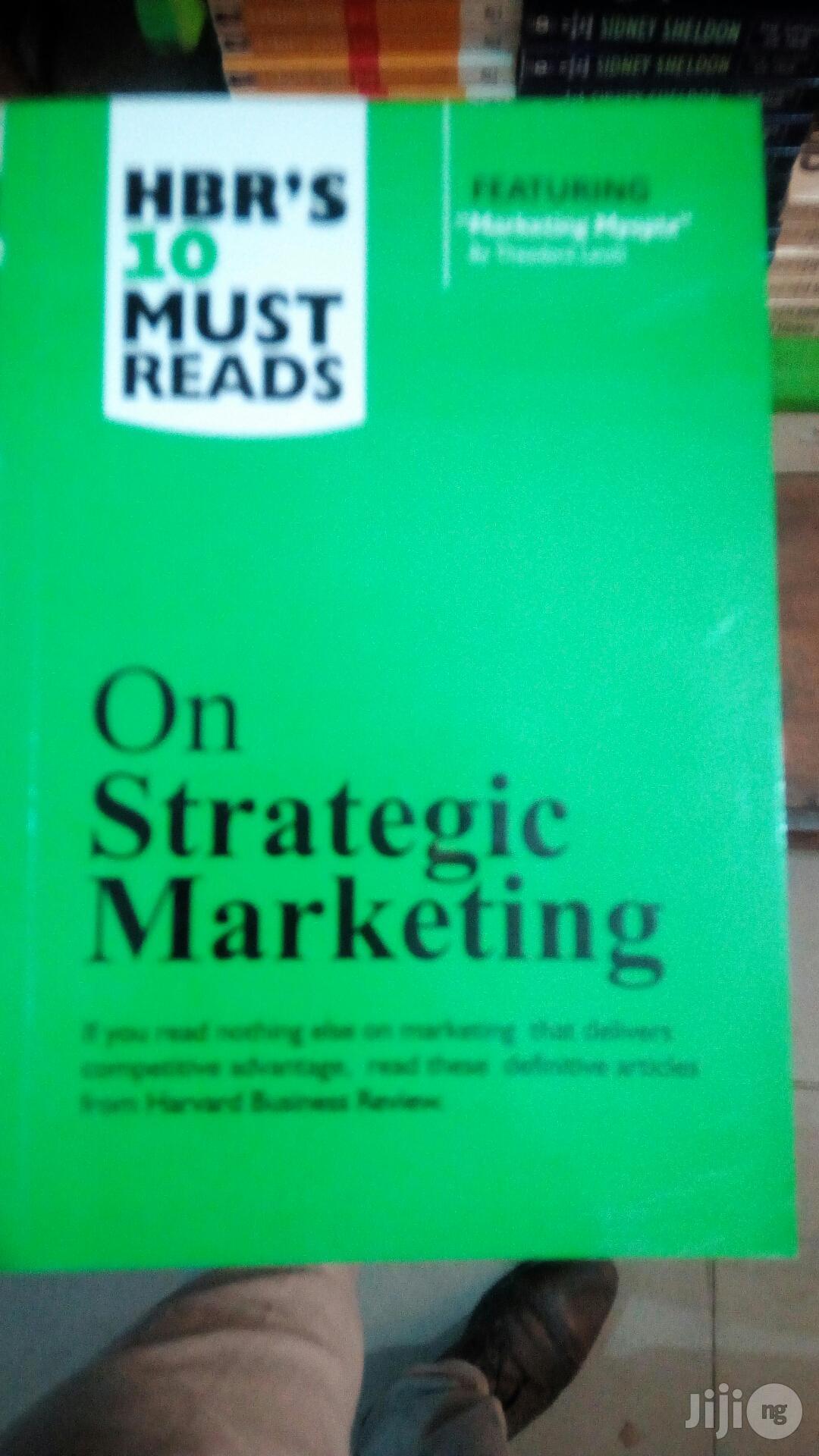 Hbr on Marketing Strategy
