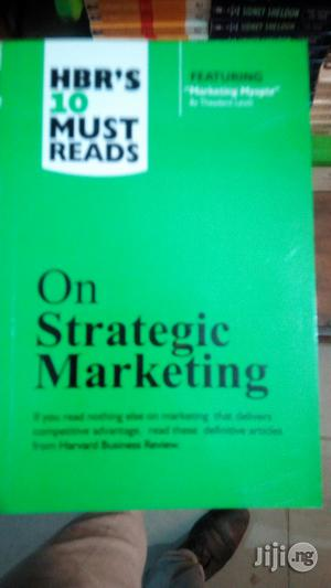 Hbr on Marketing Strategy | Books & Games for sale in Lagos State, Yaba