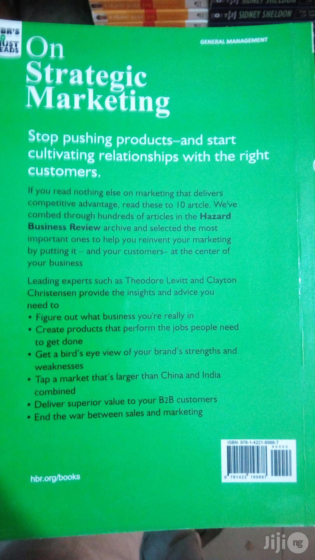 Hbr on Marketing Strategy | Books & Games for sale in Yaba, Lagos State, Nigeria