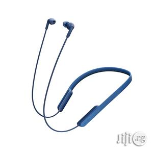 Sony Mdr-xb70bt Extra Bass Bluetooth In-ear Neckband Headphone - Blue   Headphones for sale in Lagos State, Ikeja