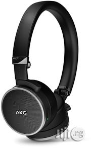 AKG Noise Canceling Headphone Black | Headphones for sale in Lagos State, Ikeja