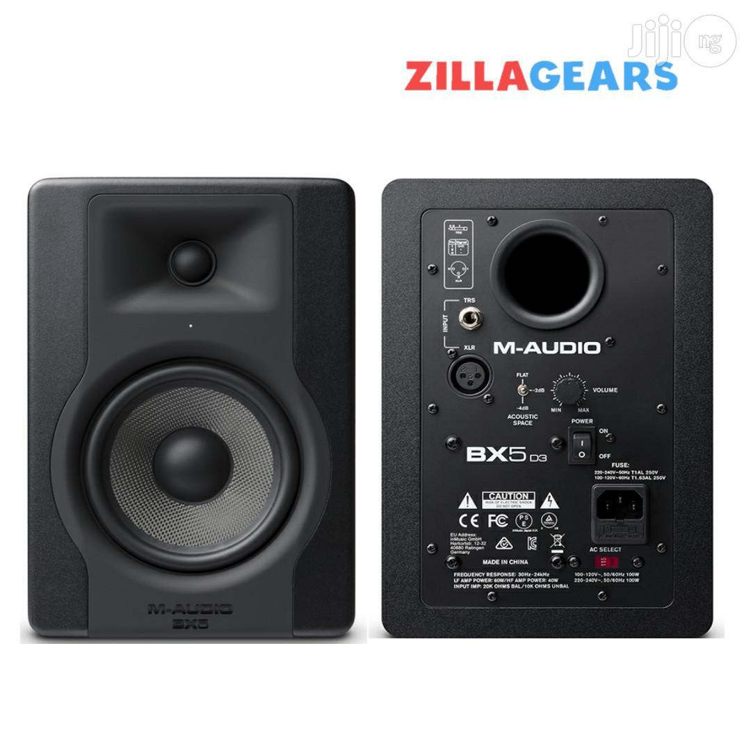 "Archive: M-audio BX5 D3 Studio Monitor Speakers   5"" Woofer"