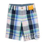 GYMBOREE USA MADE Plaid Cotton Shorts for Boys - Multicolor | Children's Clothing for sale in Lagos State, Ikeja