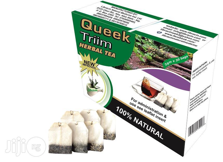 Queek Triim Herbal Tea For Slimming Down And Losing Weight