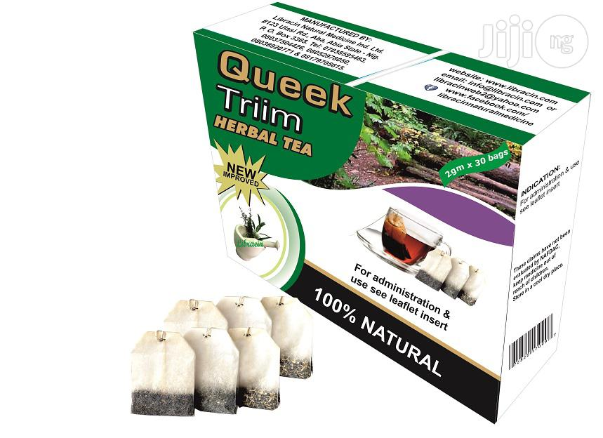 Slim Down And Lose Weight With Queek Triim Herbal Tea