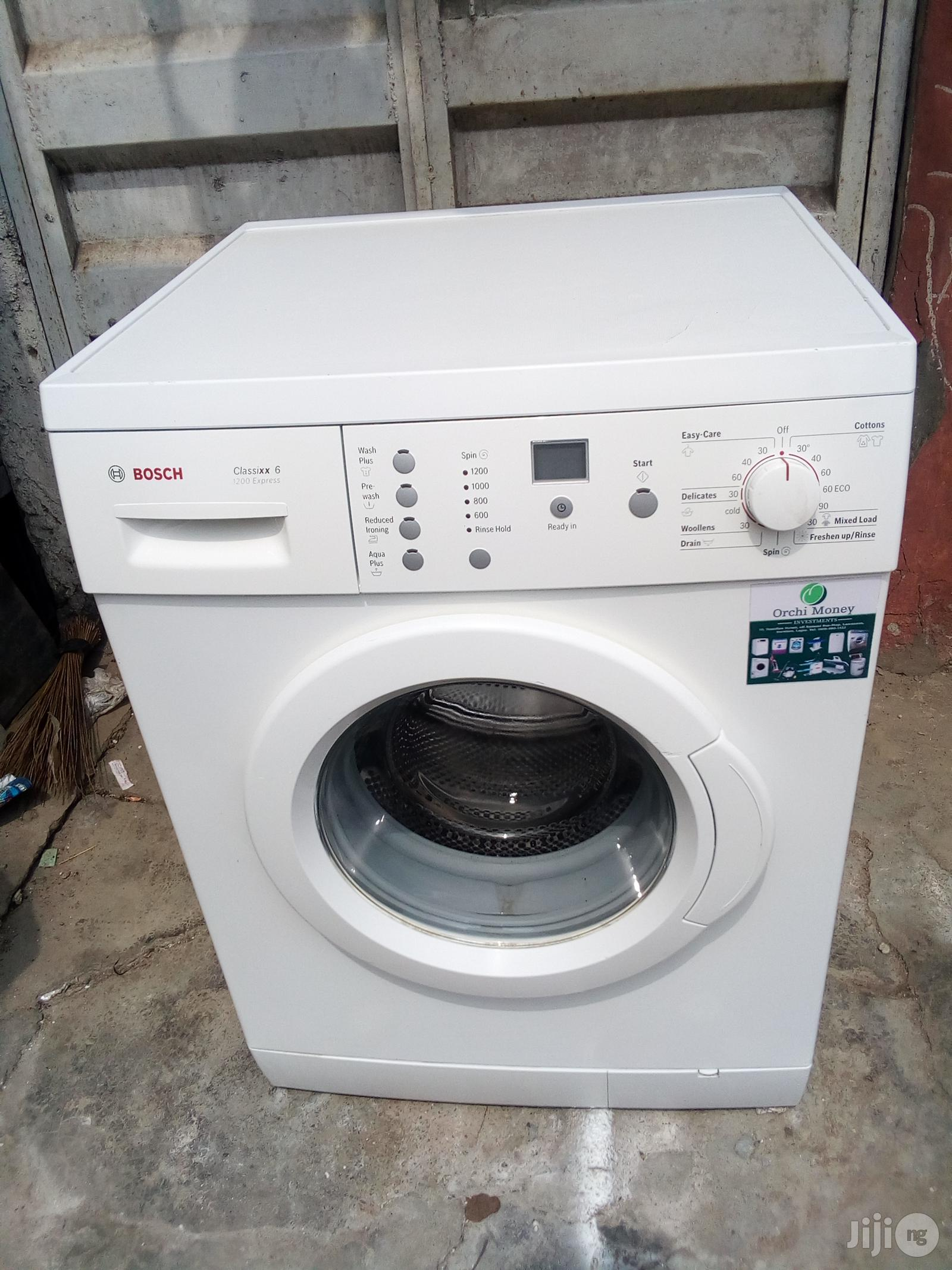 Archive: 7kg Bosch Washing Machine