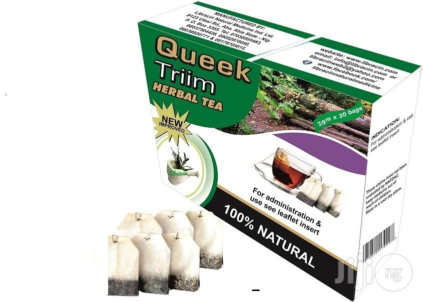 Archive: Quick Solution for Weight Loss. Queek Triim Herbal Tea