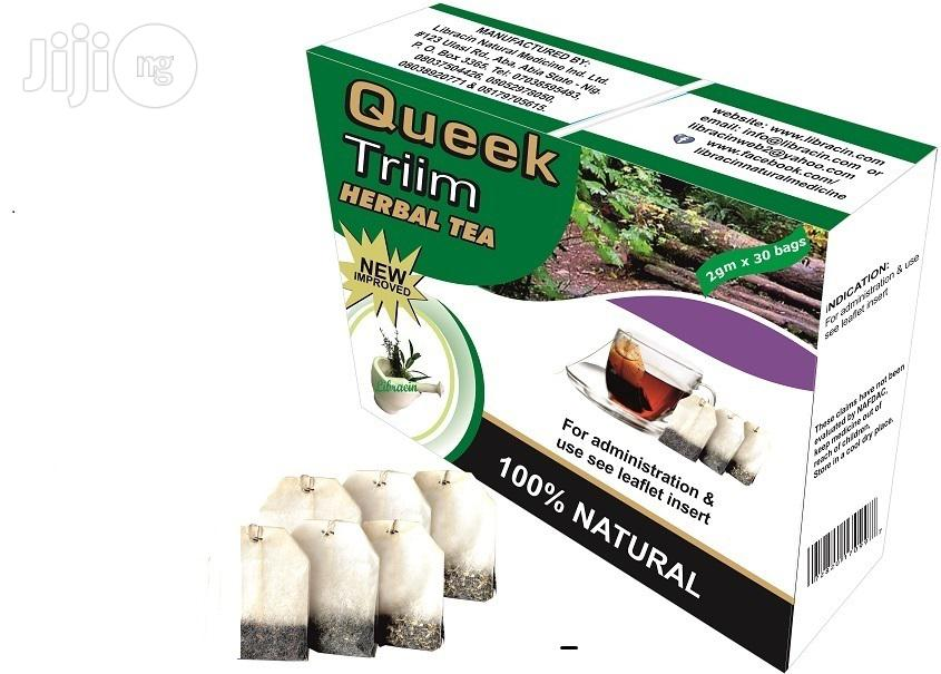 Archive: Shed Weight Instantly With Queek Triim Herbal Tea