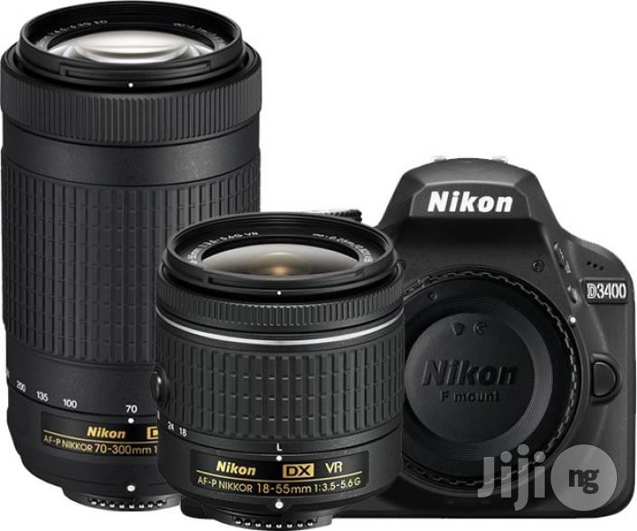 Brand New Nikon D3400 With Dual Lens ( 18-55mm & 70-300mm)