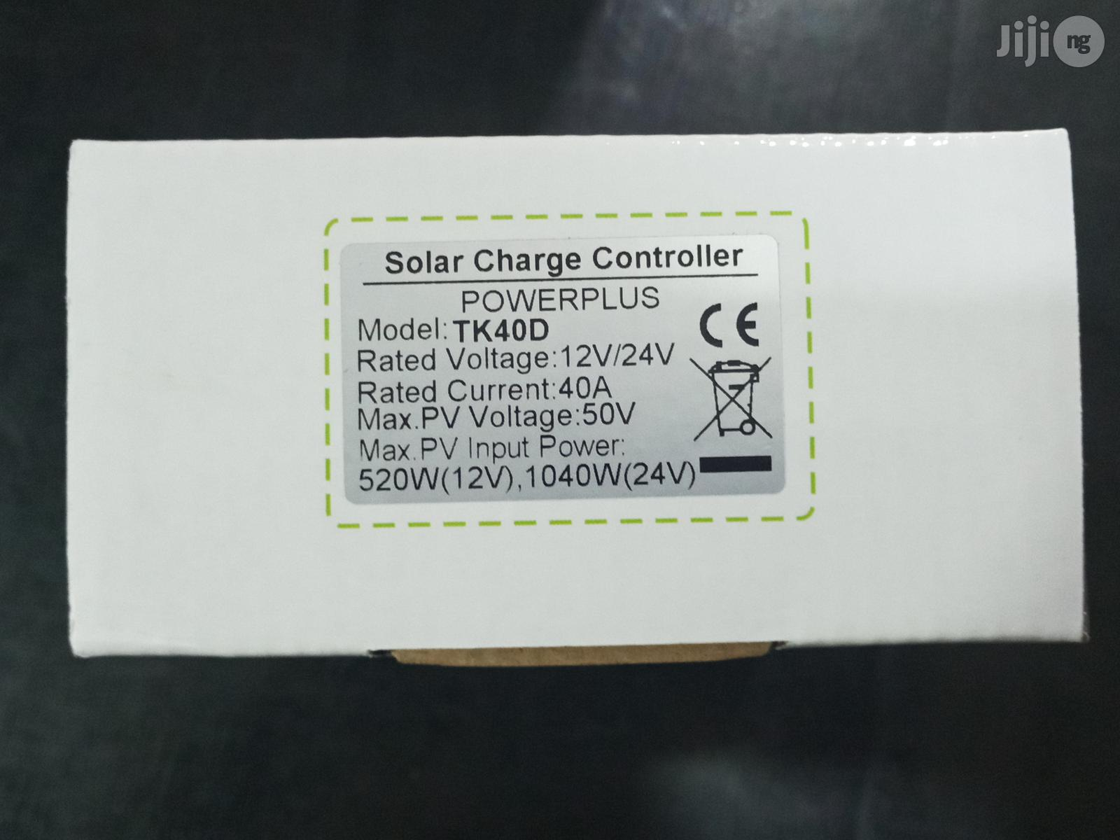 40A Charge Controller Powerplus TK | Solar Energy for sale in Lagos State, Nigeria