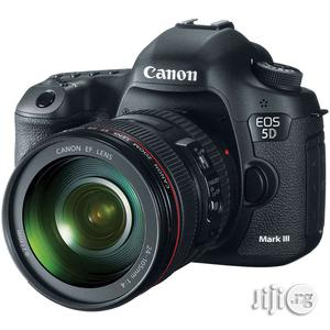 Canon EOS 5D Mark 3 Camera With 24-105 Lens | Photo & Video Cameras for sale in Lagos State, Ikeja
