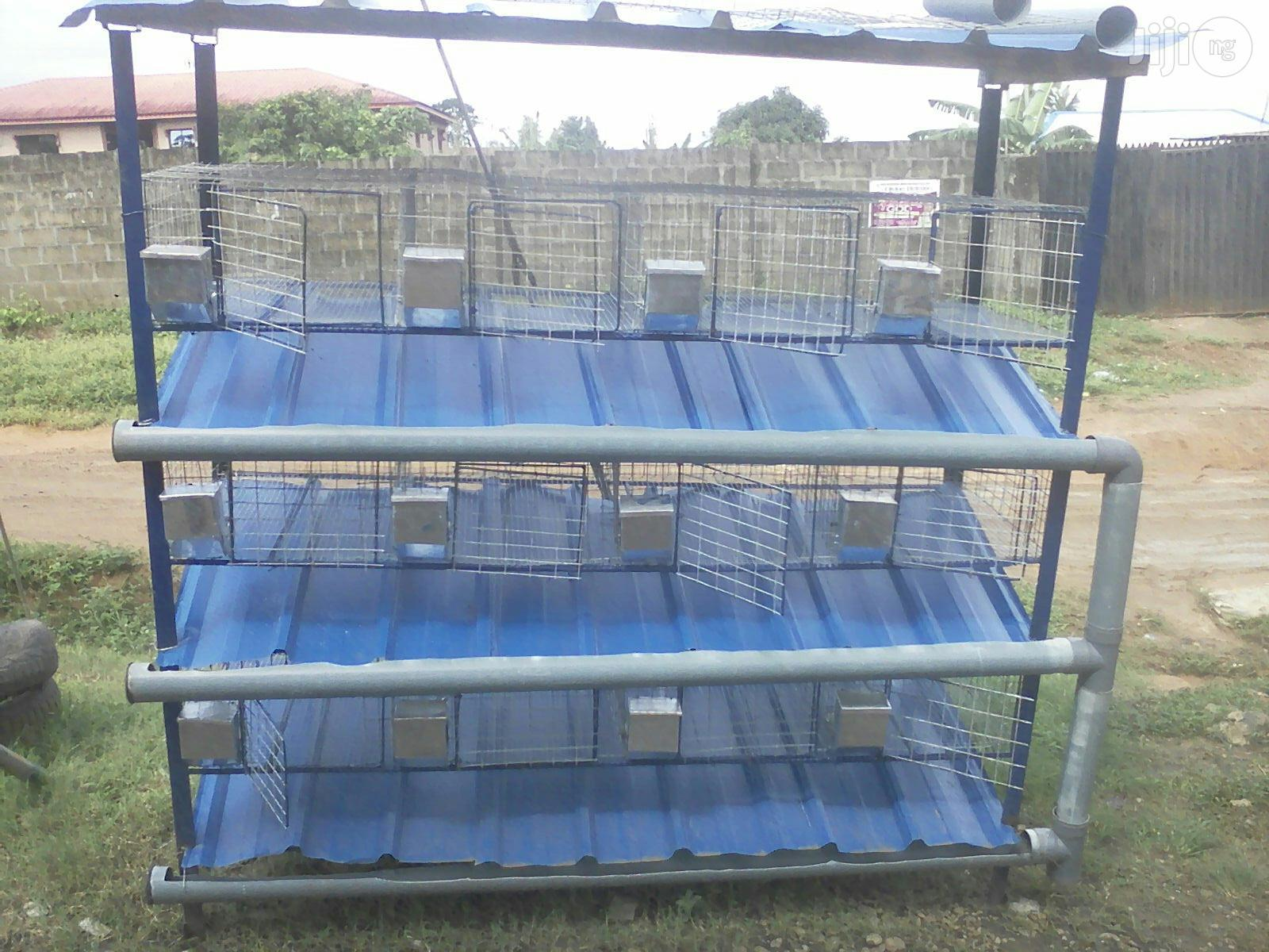 Cages For Rabbits, Birds, Mouse Etc For Sale | Farm Machinery & Equipment for sale in Alimosho, Lagos State, Nigeria