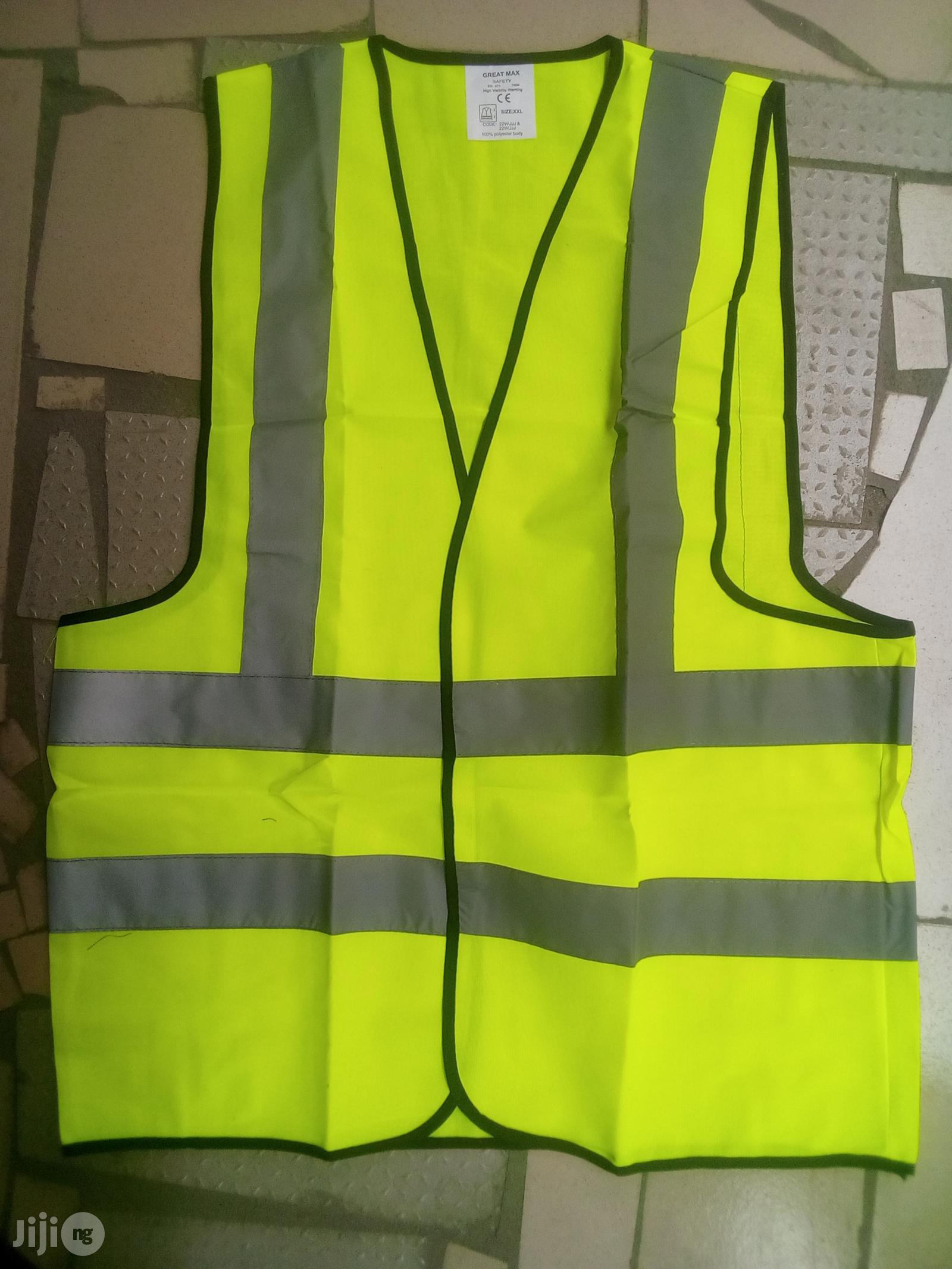 Safety Reflective Jacket.