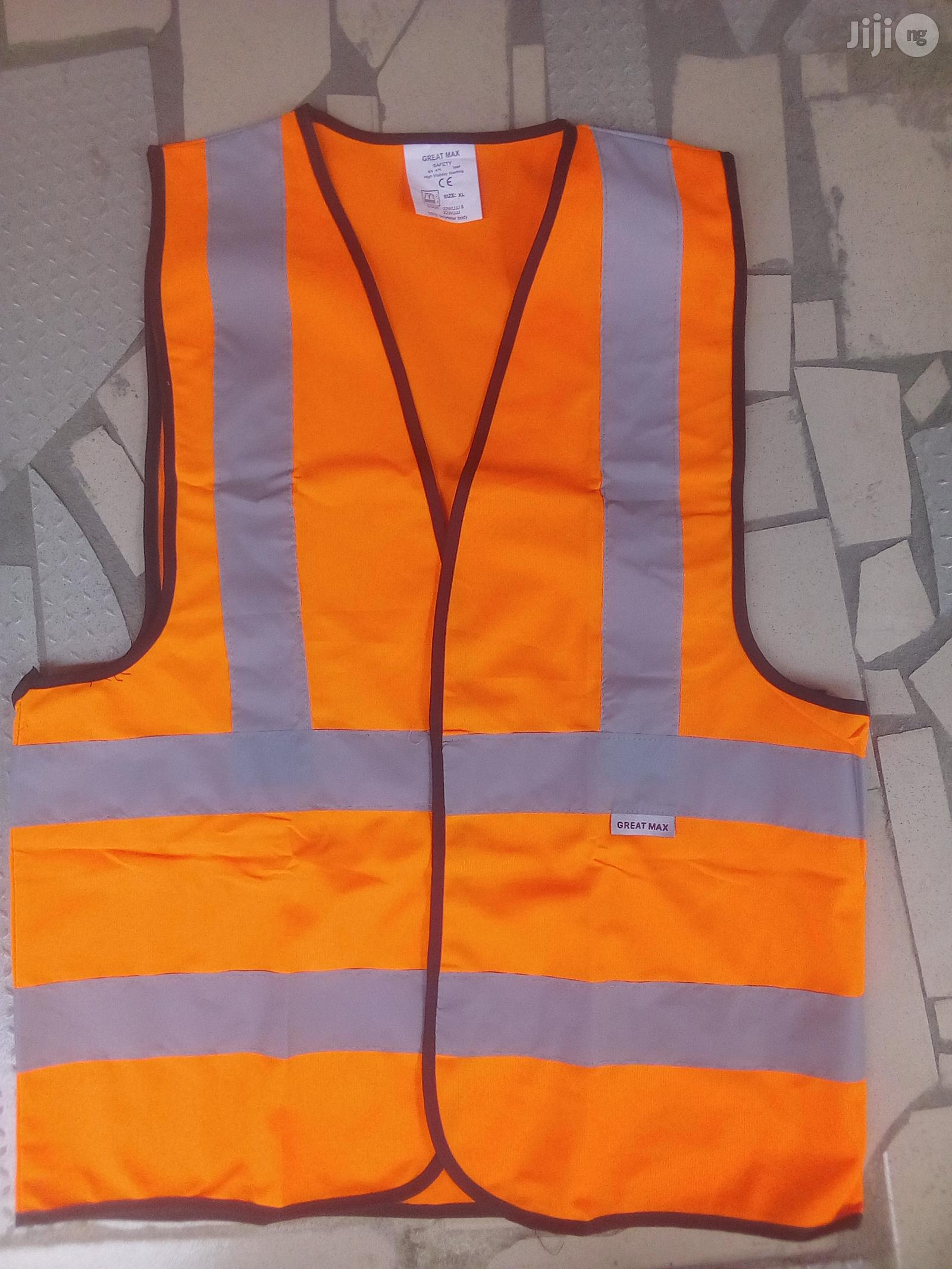 Safety Reflective Jacket. | Safetywear & Equipment for sale in Tureta, Sokoto State, Nigeria