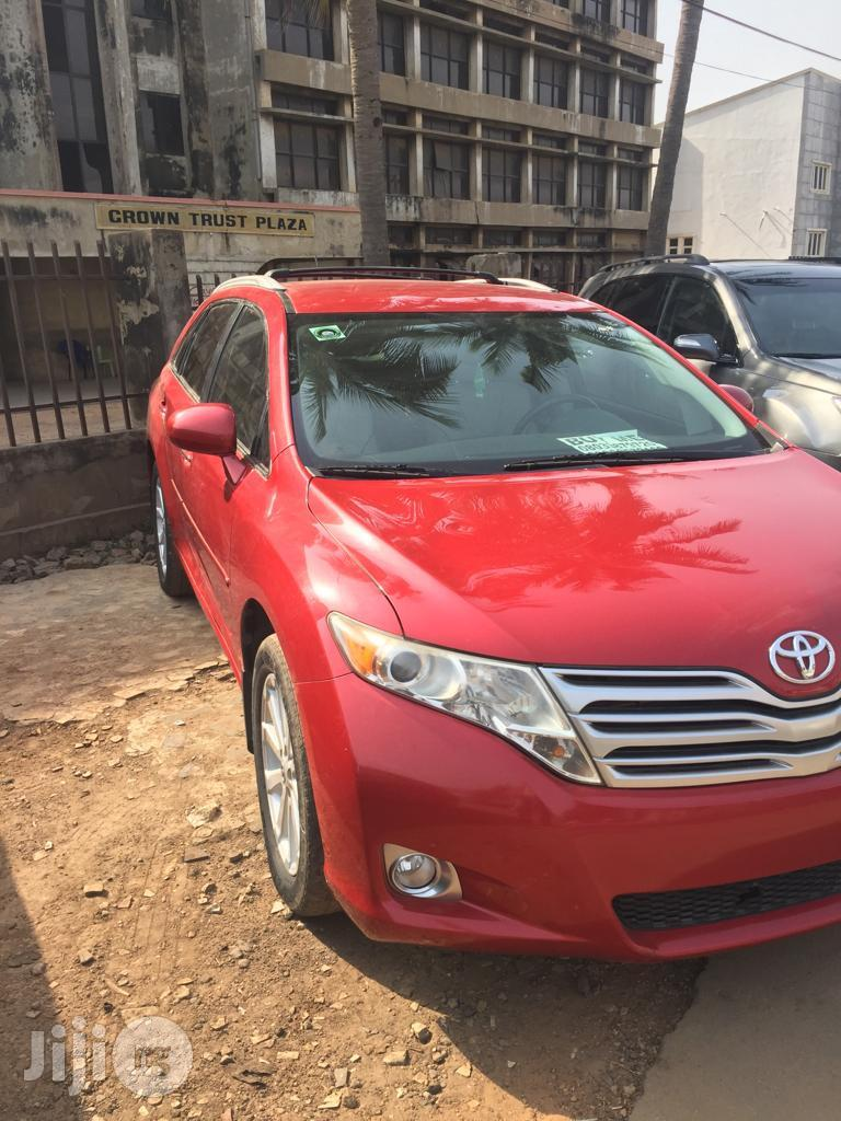 Archive: Toyota Venza 2012 Red