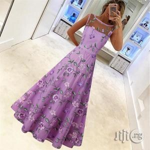 Women's Explosion Section Wish Retro High-end Long Skirt Mesh   Clothing for sale in Lagos State, Ikeja