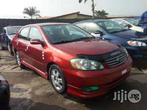 Toyota Corolla 2004 S Red   Cars for sale in Lagos State, Apapa