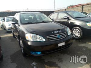 Toyota Corolla 2004 LE Black | Cars for sale in Lagos State, Apapa