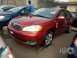 Toyota Corolla 2006 LE Red | Cars for sale in Lagos State, Apapa