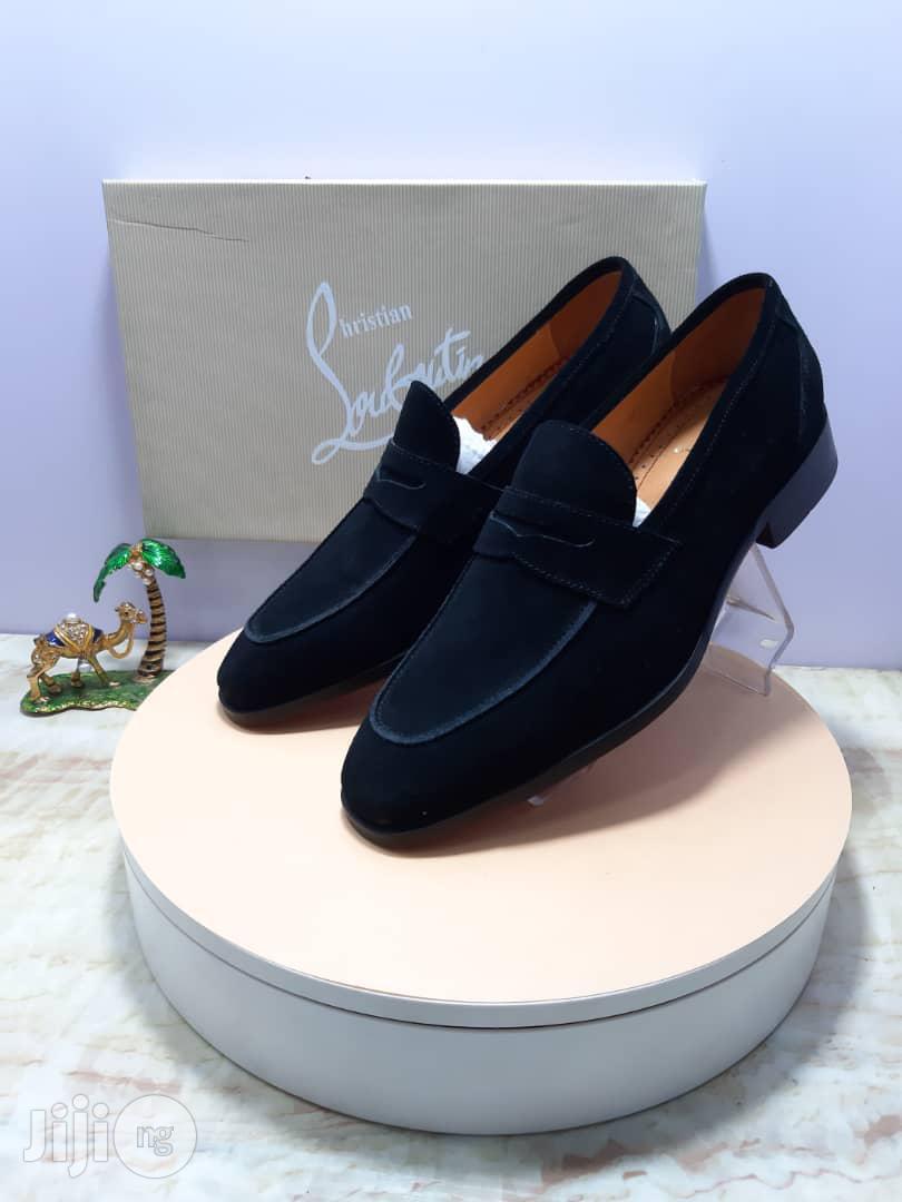 Archive: Christian Louboutin Suede Shoe