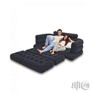 Inflatable Leather Pull Out Sofa and Queen Bed Mattress | Furniture for sale in Lagos State, Lagos Island (Eko)