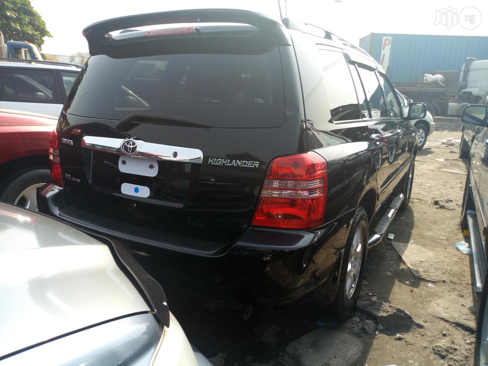 Toyota Highlander 2003 Black | Cars for sale in Apapa, Lagos State, Nigeria